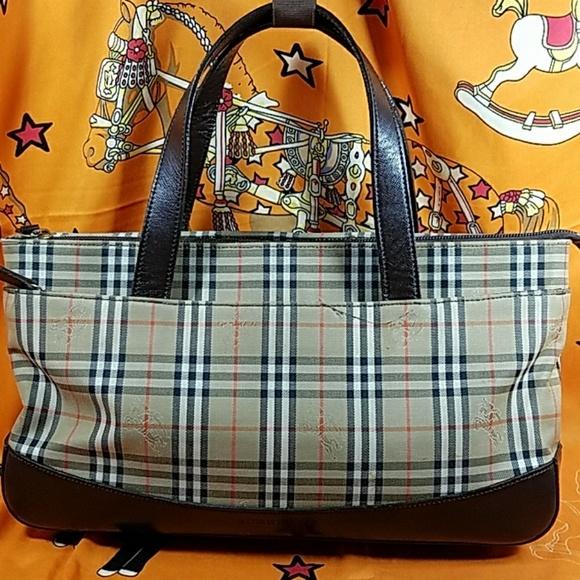 Authentic Burberry Novacheck Satchel Bag c67e59ae11081